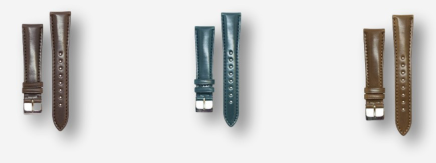 Cordovan watch straps