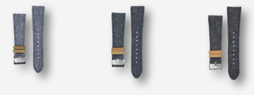 Fabrics watch straps